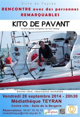 Kito de Pavant, 26 septembre 2014