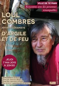 Rencontre avec Loul Combres, Teyran, le 7 mai 2015