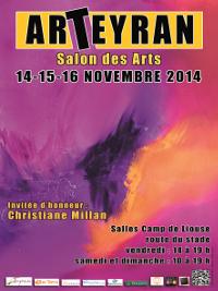 Salon ArTeyran, 1ère édition, du 14 au 16 novembre 2014