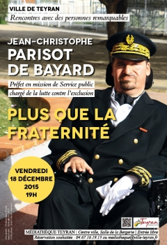 Rencontre avec Jean-Christophe Parisot de Bayard
