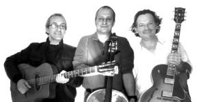 Captain's trio, jazz manouche, vendredi 19 juin à 19h cour du Charron, Teyran