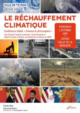 Conférence-débat sur le Réchauffement climatique