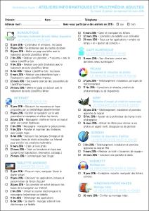 bulletin inscrip multimedia 1er sem 2016