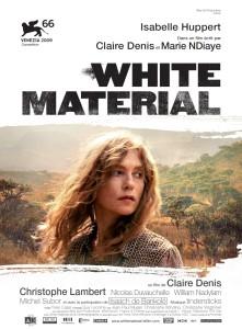 Cinéma, White material, Médiathèque Teyran