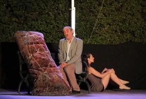 Le Paquet, de Philippe Claudel, par Illusoire Jardin - Photo Eric Halley