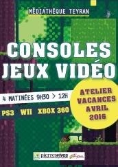 mediatheque teyran consoles jeux video atelier vacances avril 2016 22