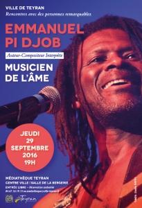 Affiche Em Pi Djob pour JDT sept 2016